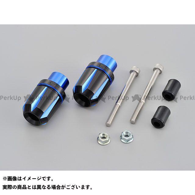 デイトナ MT-09 MT-10 ヤマハ汎用 ハンドル関連パーツ PREMIUM ZONE シリーズ ハンドルバーエンドプラグ スクラッチタイプ ブルー