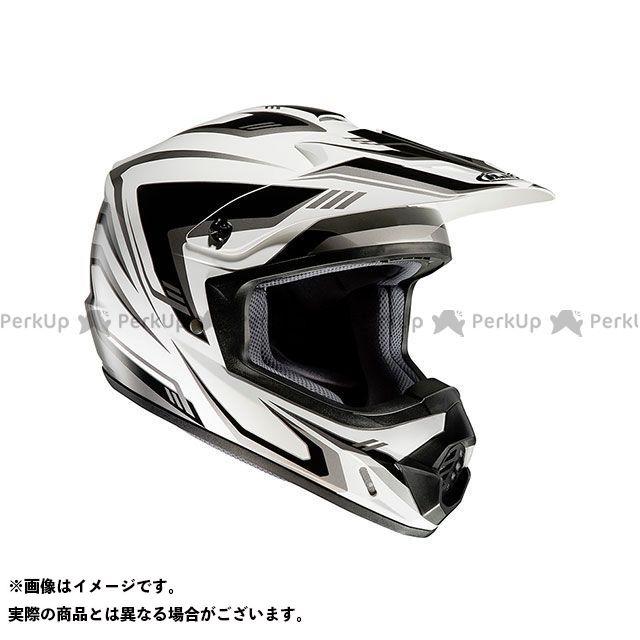 送料無料 HJC エイチジェイシー オフロードヘルメット HJH123 CS-MX2 エッジ ホワイト/ブラック L/59-60cm