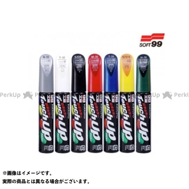 SOFT99 ソフト99 塗料・ペイント タッチアップペン(12ml) シルバー系 T7509【トヨタ・1C1・クリスタルシルバーパールM】