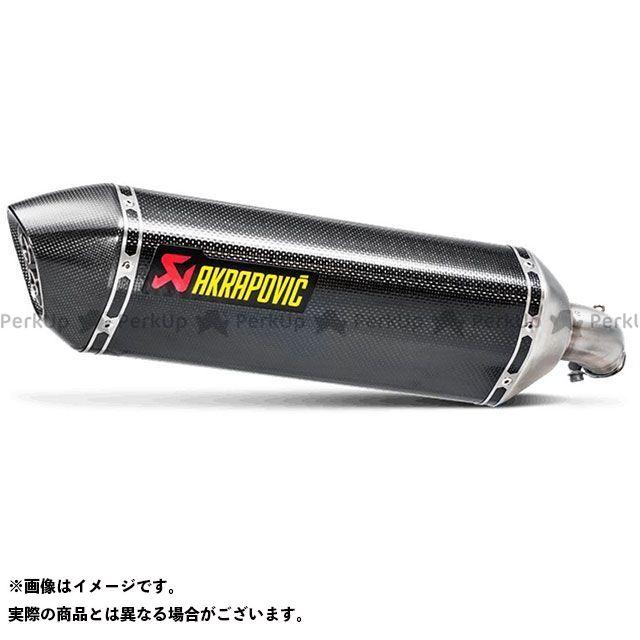 アクラポビッチ SV650 スリップオンマフラー ヘキサゴナル(カーボン) JMCA対応