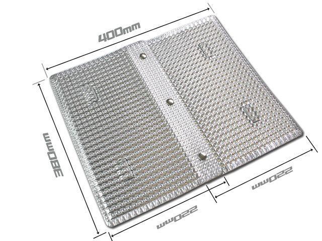 ケメコ Kemeko ストーブ・グリル類 マルチパーパスウインドスクリーン兼用 遮熱アンダープレート
