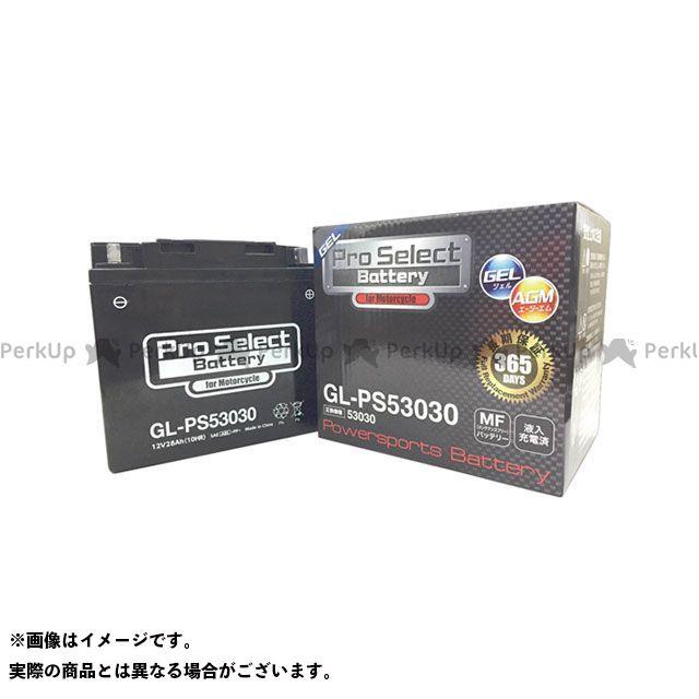プロセレクトバッテリー 汎用 GL-PS53030(53030互換) ジェルタイプ 液入り充電済み