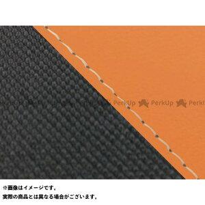 【エントリーで最大P19倍】グロンドマン グロム グロム 国産シートカバー オレンジ&スベラーヌブラック タイプ:張替 仕様:透明ステッチ Grondement