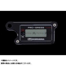 ウッドストック ヨシムラ PRO-GRESS1 テンプ・ボルトメーター対応 メーターステー Bタイプ(ブラック) WOODSTOCK