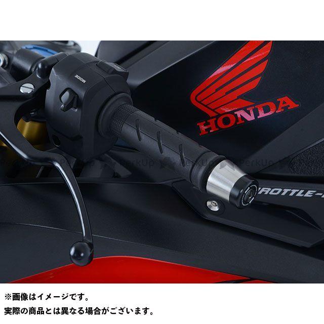 送料無料 R&G CBR250RR ハンドル関連パーツ バーエンドスライダー(ブラック)
