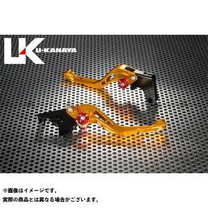 【無料雑誌付き】ユーカナヤ XT1200Zスーパーテネレ GPタイプ アルミ削り出しビレットショートレバー(レバーカラー:ゴールド) 調整アジャスターカラー:オレンジ U-KANAYA