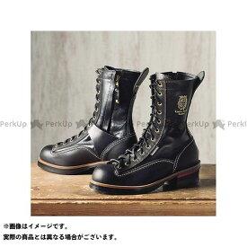KADOYA カドヤ Leather Royal Kadoya No.4320 RIDE LOGGER(ブラック×ブラック) 27.0cm