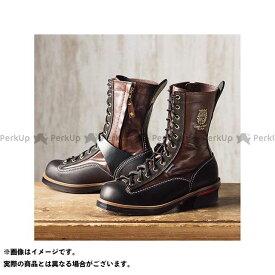 KADOYA カドヤ Leather Royal Kadoya No.4320 RIDE LOGGER(ブラウン×ブラック) 27.5cm