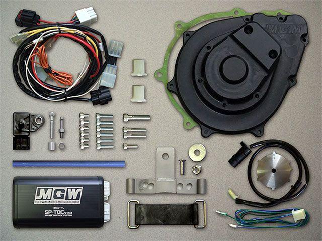 送料無料 メタルギアワークス CB1100R その他電装パーツ デジタル進角KIT(CB1100R) ブラック