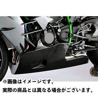 送料無料 マジカルレーシング ニンジャH2 カウル・エアロ アンダーカウル(オイルキャッチ構造) 平織りカーボン製