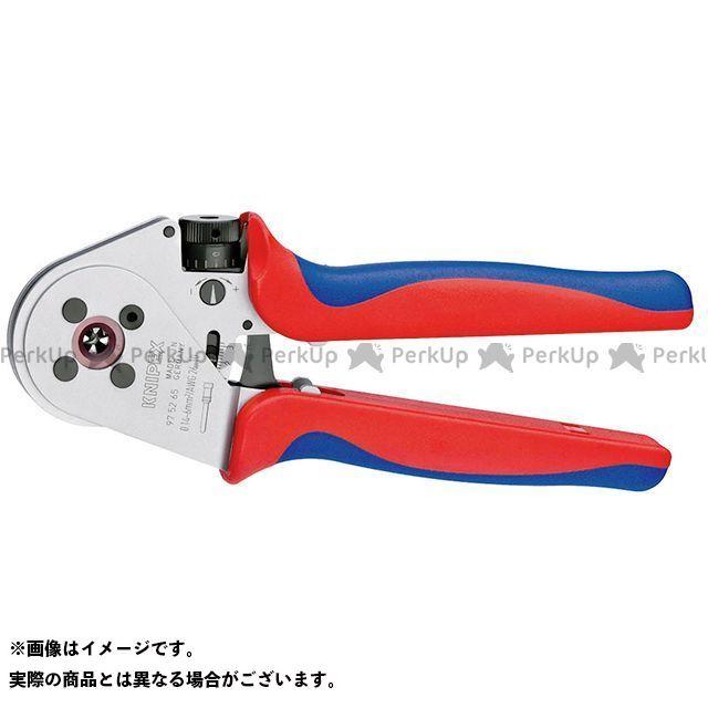 送料無料 KNIPEX クニペックス ハンドツール 9752-65A 圧着ペンチ ロケーターなし