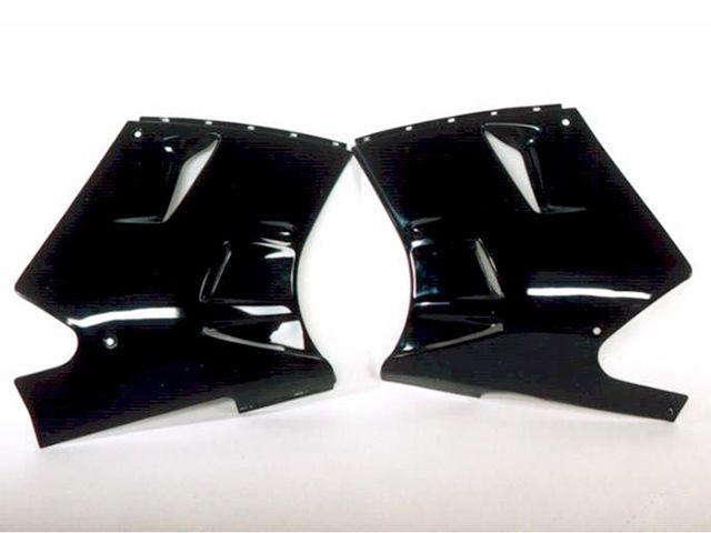 送料無料 バットウィング ZZR1100 カウル・エアロ ZZR1100-C/ZX11-C FRP製アンダーカウル/レプリカ 製品表面サンディング処理済み(ブラックベース) 左右セット