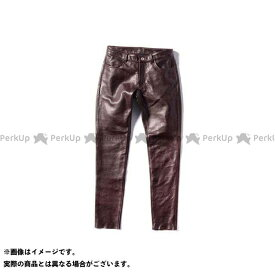 KADOYA カドヤ K'S LEATHER No.2268 LTR - PANTS レザーパンツ(ブラウン) WS