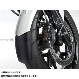 BODY STYLE GSX1400 フロントフェンダ—エクステンション SUZUKI GSX 1400 2001-2006 マットブラック