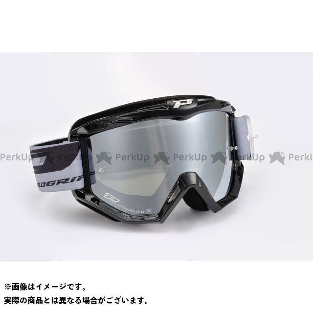 送料無料 プログリップ PROGRIP オフロードゴーグル 3201FL ATZAKI MIRROR ゴーグル(ブラック)