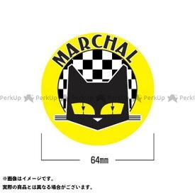 マーシャル ステッカー 丸型(イエロー) MARCHAL
