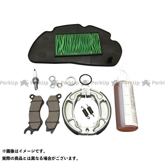 送料無料 グロンドマン PCX125 プラグ パフォーマンスリフレッシュキット(プラグ/エアフィルター/ブレーキ/ギアオイル等 メンテナンスキット)