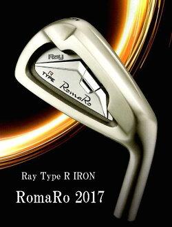 Romaro★로마로Ray Type R IRON 아이언[스틸]레이 타입 R 5번~PW 6개 세트(NS950/DGS200)