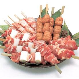 肉のスギモト[ 名古屋コーチン 焼鳥セット ] 名古屋コーチンモモ串・ムネ串・ねぎま串・つくね串 各4本、たれ付き