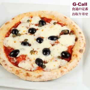 石窯ピザ 黒オリーブとアンチョビのピザ 南風堂 モッツァレラチーズ ケッパー 冷凍ピザ pizza 国産小麦 有機天然酵母