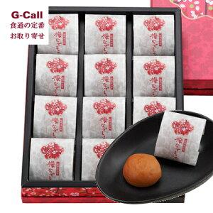 紀州 中田の梅ぼし 紀州南高梅 梅なでしこ 化粧箱 個包装12粒 ギフト/贈り物/プレゼント/お取り寄せ