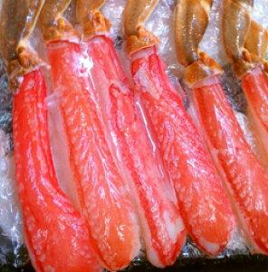 お刺身で食べられる生食用ずわいがに棒肉40本 計1キロ