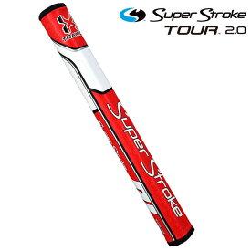 スーパーストローク ツアー2.0 Traxion TOUR パターグリップ レッドホワイト SUPER STROKE GOLF GRIP 【USモデル】【新品】【即納】【あす楽対応】 【ラッキーシール対応】