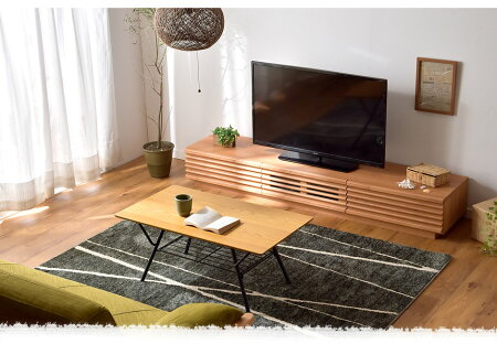 【在庫有】アルダー無垢日本製完成品テレビ台幅180国産木製TV台テレビボードロータイプローボードTVボード50型60インチナチュラルブラウンアルダー無垢180cm180天然木