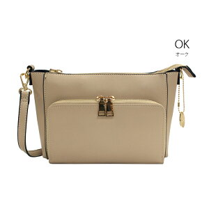 カシュカシュお財布ショルダー財布機能付きショルダーバッグ財布一体型財布バッグお財布ポシェットレディース多収納チャーム付き