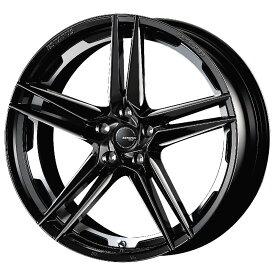 ESTATUS Style-757 (エステイタス スタイル-757) 19インチ 8.0J インセット48 5H/112 「ブラックサイドマシニング」 1本 アルミホイール wheel