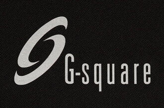 When stick it; the G-square (G square) sticker (medium size) of the clipping type with the three-dimensional impression