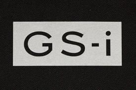 貼り付けると立体感のある切抜きタイプのGS-Iステッカー(Mサイズ)