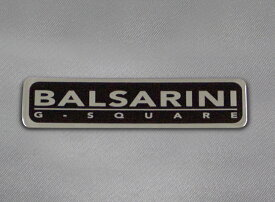 ロゴを配置した!BALSARINI(バルサリーニ)ロゴプレート(2個入り)