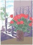 福本吉秀、Niceday2、版画/シルクスクリ-ン