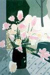 福本吉秀、Fragrance、版画/シルクスクリ-ン