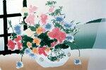 福本吉秀、Gentlewind、版画/シルクスクリ-ン
