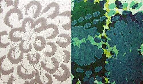 原陽子、花#3(Flower#3)、版画/銅版画