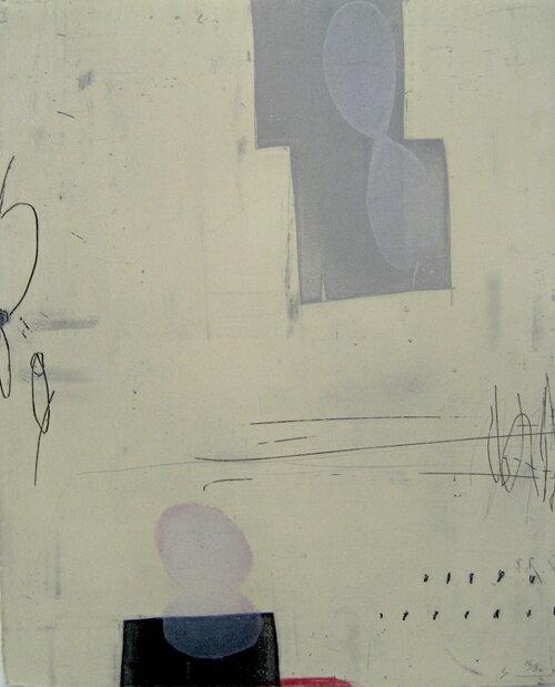 原陽子、そこでは空気が振動することはない、版画/銅版画