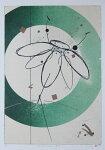 鳴海伸一、silentfloral-泰然-、版画/リトグラフ・ドライポイント