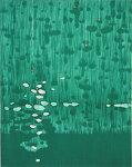 朴再英、響く、版画/水性木版画