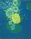 朴再英、光の中で、版画/水性木版画