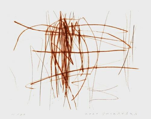芝高康造、Fragment6-3、版画/銅版画