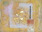 山本正文、夏の花、版画/銅版画