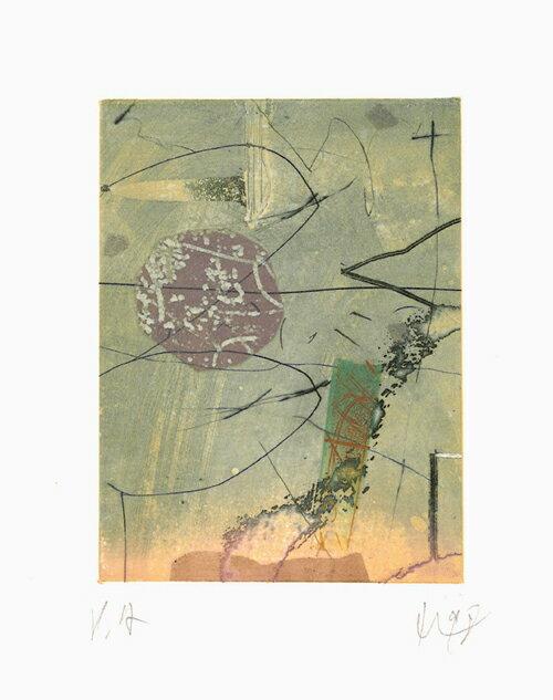 山本正文、薔薇物語2、版画/銅版画