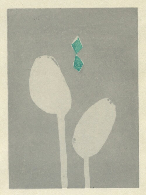 【モダンアートインテリア】版画/木版画安芸真奈ちょうちょがいたね絵画版画現代アートモダンアートインテリアアート抽象画贈り物新築祝い竣工祝い開店祝いアート送料無料