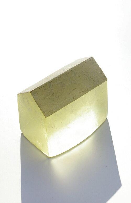 【ガラス彫刻】オブジェ/キャストガラス扇田克也OGFA-09HOUSE現代アートオブジェ送料無料