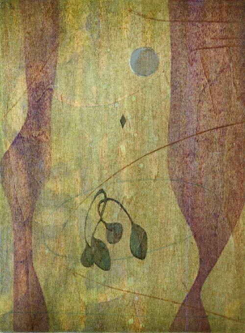 版画/木版画木村繁之曜宿現代アート抽象送料無料※この商品を大幅値引き表示している偽サイトがありますのでご注意下さい。