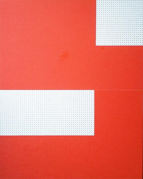 oiloncanvas坪田政彦境・彩・点-R現代アート抽象送料無料※この商品を大幅値引き表示している偽サイトがありますのでご注意下さい。