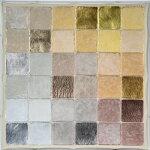 百瀬寿NE.DiagonalAluminumtoGoldbyMagenta現代アート/抽象/絵画/ミクストメディア