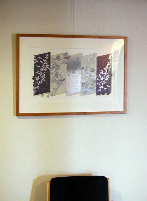 版画/油性木版シルクスクリーン白駒一樹折譜-2モダンアート送料無料※この商品を大幅値引き表示している偽サイトがありますのでご注意下さい。